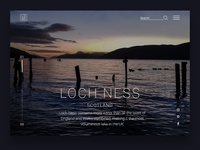 Daily UI - Loch Ness