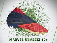 Daily UI - Adidas Marvel Nemeziz