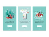 Onboarding, Google Trips
