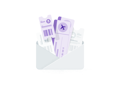 Google Trips app, share trip details email reservations hotels flights illustrator drawing illustration google travel travel google trips google
