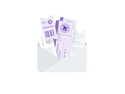 Google Trips app, share trip details email reservations hotels flights illustrator drawing illustration google travel travel google trips google