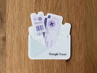 Google Travel sticker