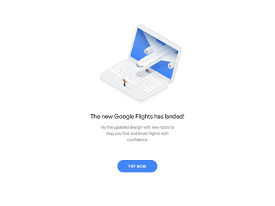 The new Google Flights has landed price tracking price seat plane drawing motion animation illustration google flights google