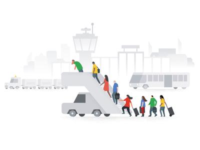 Oops, something went wrong, Google Flights error illustration