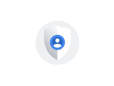 Privacy Policy, Google account profile security shield policy privacy illustration icon account google