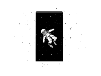 Black monolith.  2001: A space Odyssey