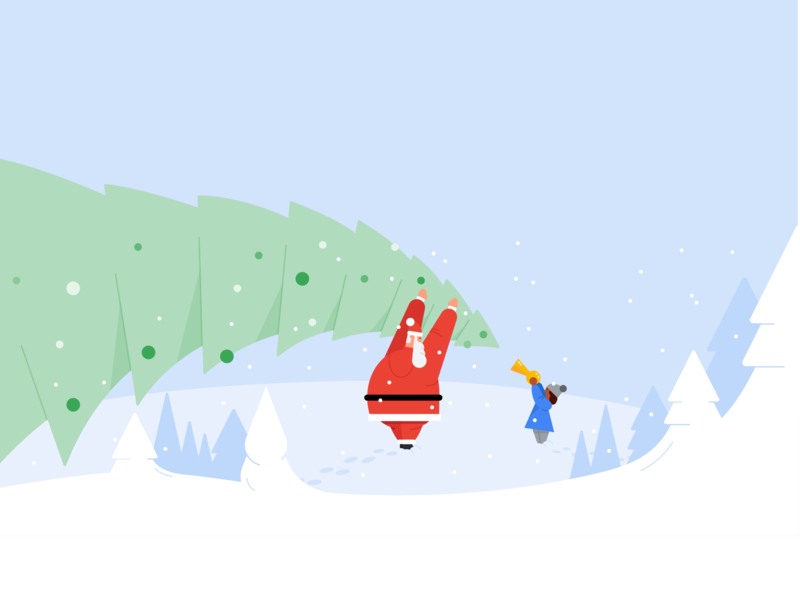 Christmas christmas design drawing material design google illustration