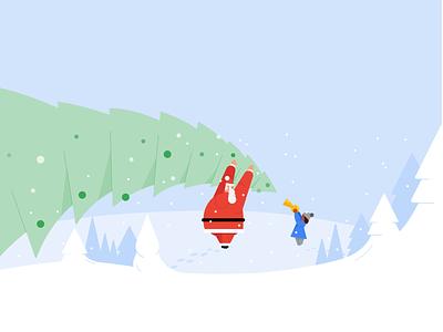 Christmas christmas design drawing material design google illustration