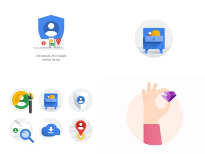 2018, Top4Shots top4shots ui vector logo drawing material design google illustration