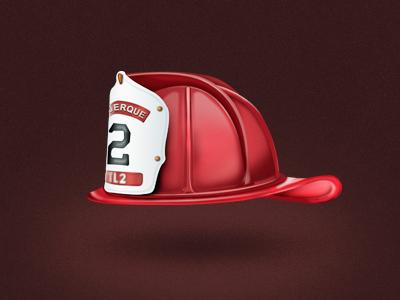 Albuquerque Firefighters Helmet