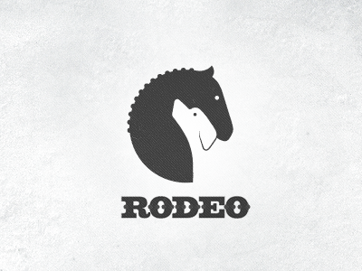 Stables | Dogs training center  stables dog dogs horse horses riding negative space negative space logo logotype mark symbol typography todytod west cowboy rodeo