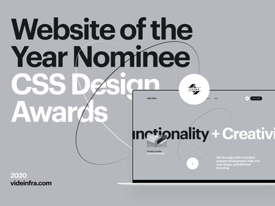 Vide Infra at WOTY 2020 agency digital cssda woty vide infra