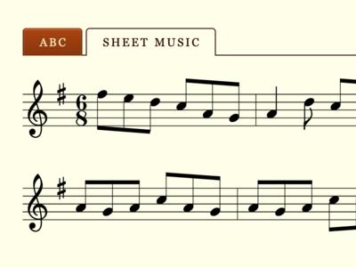Music tabs