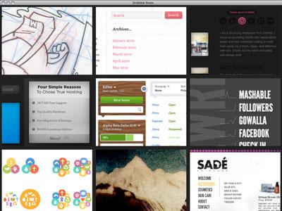 Desktop Dribbble App