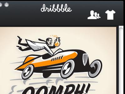 WIP: Dribbble Desktop App