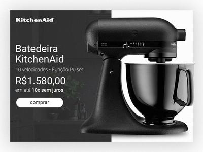 KitchenAid product card Study