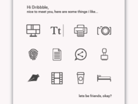 Some resume Icons