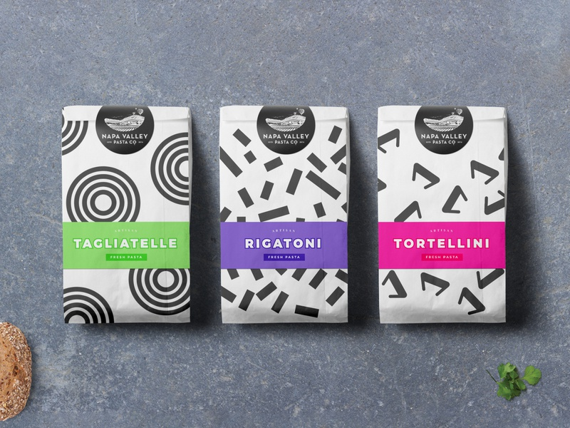 Napa Valley geometric design geometric graphic minimal creative direction creative identity typography branding packaging