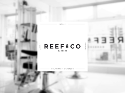Reef & Co - Logo Header brand identity brand identity concept creative direction brand identity typography branding