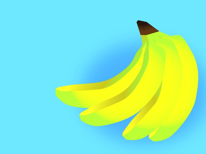 Banana Bunch pun vector artwork aesthetic bananas banana gradient vector art digital art illustration digital sketch digital illustration
