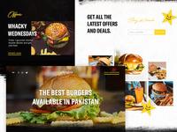 Hardee's Pakistan Website