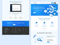 Cloud Security Website Design