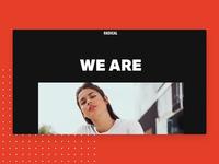 Apparel Brand Landing Page
