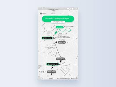 Navigation Details Interaction
