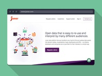 Junar Website Redesign