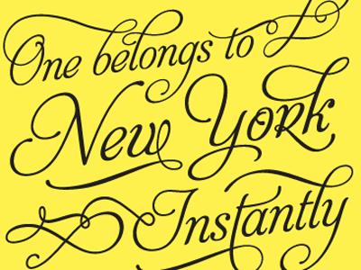 FTLO WIP typography