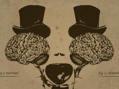 Young Frankenstein illustration poster lettering y dublin ireland type vintage