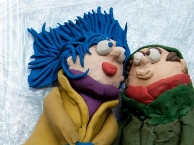 Eternal Sunshine of the Plasticine Mind  clay sculpting character design design dublin ireland lwlies