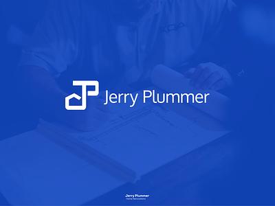 Plummer minimalist trendy plumber logo home logo design burning man nike campaign 2018 negative space branding