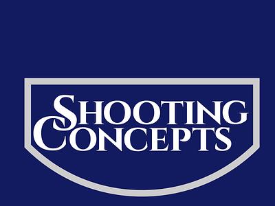 Shooting Concepts Logo Design branding typographic wordmark logo firearm logodesign