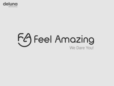 Face Logo Design 2019 illustration face negative space flat branding