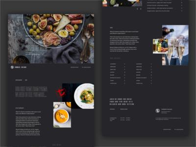 Tommasi Website - Restaurant e Bar page