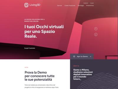 Living3d - Website restyling