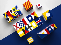 C&A packaging - Nautical Flags