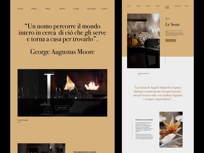 Angelo Sabatelli - Web Concept typeface ui layout type clean minimal web design website web typography design