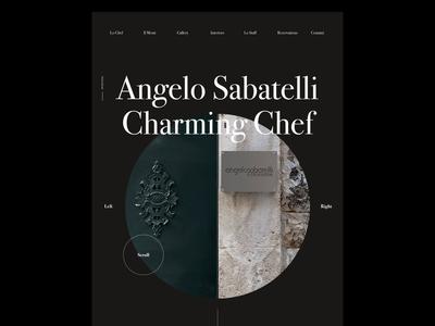 Angelo Sabatelli - Web Concept