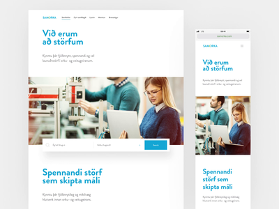 Samorka type clean minimal ux web design website web typography ui design