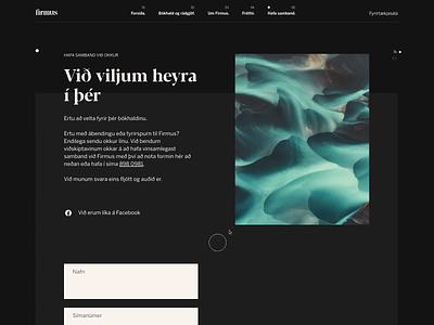 Firmus Finance - 004 mobile ui mobile webgl interaction design interactive interactive design type ux minimal clean web design website web typography ui design