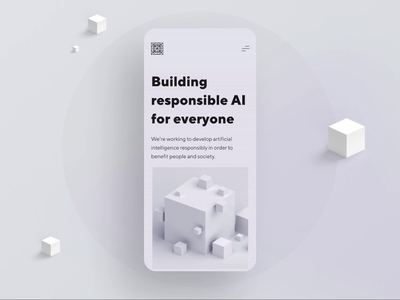 AI Powered Hardware mobile app app design app 3d ui design ui  ux clean design mobile design mobile ui mobile brand brand design branding ux type minimal clean web design typography ui