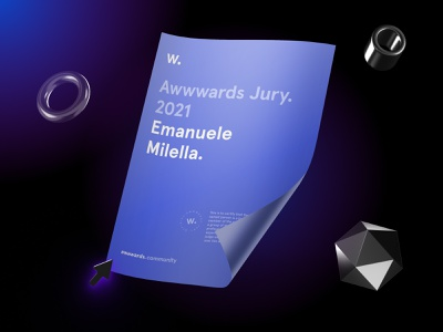 Awwwards Jury 2021 jury clean design uiux uidesign creative direction awards ux type web design web website minimal clean typography ui design