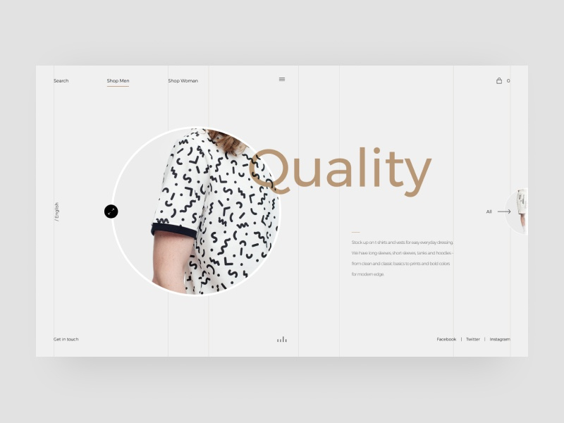 Apparel Clothing Shop web design website web vector ux ui typography type minimal logo illustration icon flat design clean character branding brand app animation
