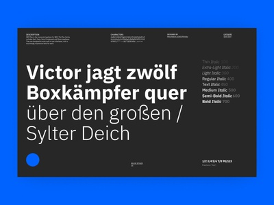 Typography Brand guidelines - Project X
