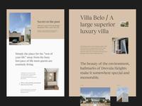 Villa Belo. Fiji - Residential