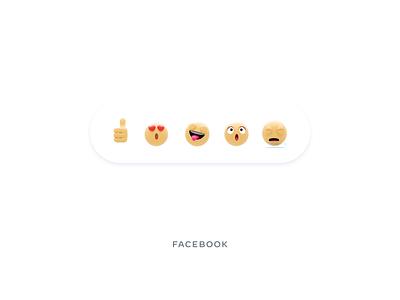 Facebook emojis blender3d facebook smiley shock in love thumbs up like crying emoji set emojis resources emoji illustrations web ui website animation illustration design 3d