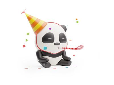 ANIMALZ - Pre-orders are open! 🥳 stickers cute dog pandas panda bear party panda cute animals cute illustration dog cat duck panda cute cute animal website blender library resources 3d illustration design