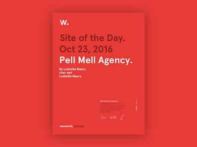 Pellmell layout grid web ui branding website webdesign design art direction